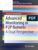 Advanced Monitoring in P2P Botnets-Springer Singapore (2018)