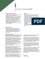 Poolias kvartalsrapport Q4 2010
