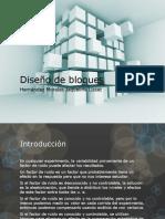 Diseño de bloques