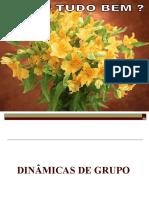 DINÂMICAS DE GRUPO - AULA