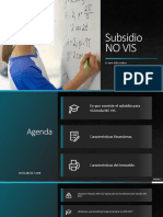 Presentacion Vivienda NO VIS