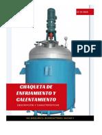 CHAQUETA DE ENFRIAMIENTO Y CALENTAMIENTO