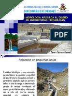 Hidrologia aplicada a obra menores