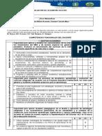 FORMATO  COEVALUACIÓN DOCENTE (PARES)