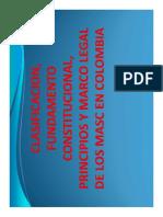 FUNDAMENTO CONSTITUCIONAL - PRINCIPIOS Y MARCO LEGAL DE LOS MASC