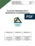 PLAN GENERAL DE EMERGENCIAS-2019