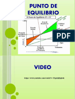 DIAPOSITIVAS PUNTO DE EQUILIBRIO