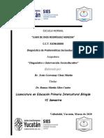 0. Diagnóstico socioeducativo