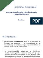 Variable aleatoria y distribución de probabilidad discreta (2)