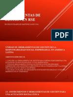 UNIDAD III HERRAMIENTAS DE GESTION EN RSE