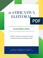 Justificativa Eleitoral E-titulo - Eleições 2020