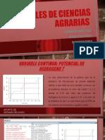 Fase 4 - Conceptos de probabilidad-VARIABLES DE CIENCIAS AGRARIAS