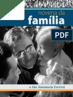 Novena Da Família - São Josemaria Escrivá