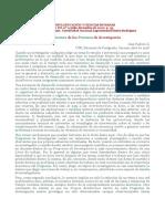 10.- Padrón.- La Estructura de los Procesos de Investigación