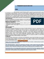 Plano anual Médio 2020 bncc