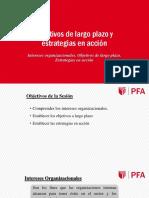 Sesión 6.1 PE - Objetivos de Largo Plazo y Estrategias en Acción