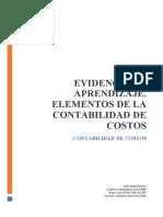 Elemento de Contabilidad de Costos