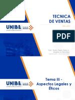 Tecnica de Ventas UNIBE 2020 Tema 3 (1)