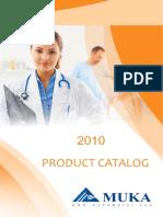 Muka 2010 Product Catalog