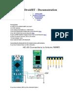 codigo para arduino coneccion bluetooth