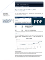 Saxo Asset Allocation for February 2011