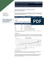 Saxo Asset Allocation for February 2011