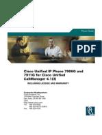 Manual Cisco 7906