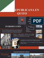 Arq. Republicana en Quito (1)