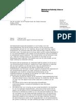 Kabinetsreactie Rapport Commissie Veerman