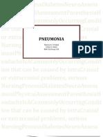 Pneumonia Case presentation (1)