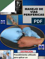 MANEJO DE VÍAS PERIFÉRICAS