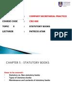 CRG660-05-Statutory Books.ppt