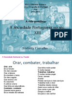 A vida quotidiana_Sociedade portuguesa séc. XII
