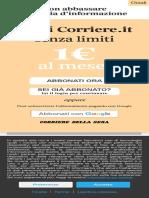 Dpcm, altre Regioni a rischio «zona rossa». In Liguria i pm verificano i dati- Corriere.it