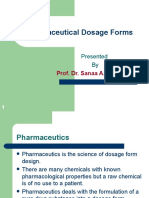 1- Pharmaceutical Dosage Forms