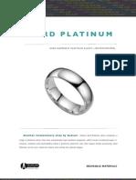 Hard Platinum Brochure