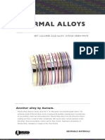 Normal Alloys Brochure