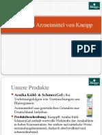Pflanzliche Arzneimittel Von Kneipp