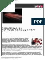 Digimag 27 - September 2007. Thorsten Fleisch, the fourth dimension in video