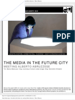 Digimag 56 - July / August 2010. The media in the future city. Meeting Alberto Abruzzese