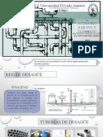 Accesorios de Desague de PVC y Concreto
