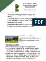educação do campo e educação quilombola apresentação