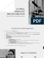 Cloral Minimalist Breakthrough by Slidesgo
