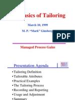 Basics of Tailoring