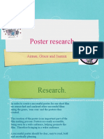 poster research