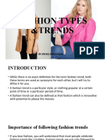 FASHION TYPES &TRENDS