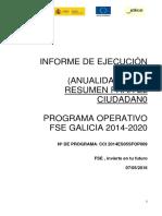 Resum Ciudadano IEj anual 2014-2015_PO FSE GA_14-20_(07.05.16)
