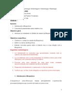 1Bioquimica Geral_Semana1_aula