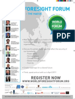 Information on the World Foresight Forum