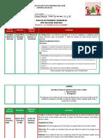 Planificacion del 09-11 al 13-11